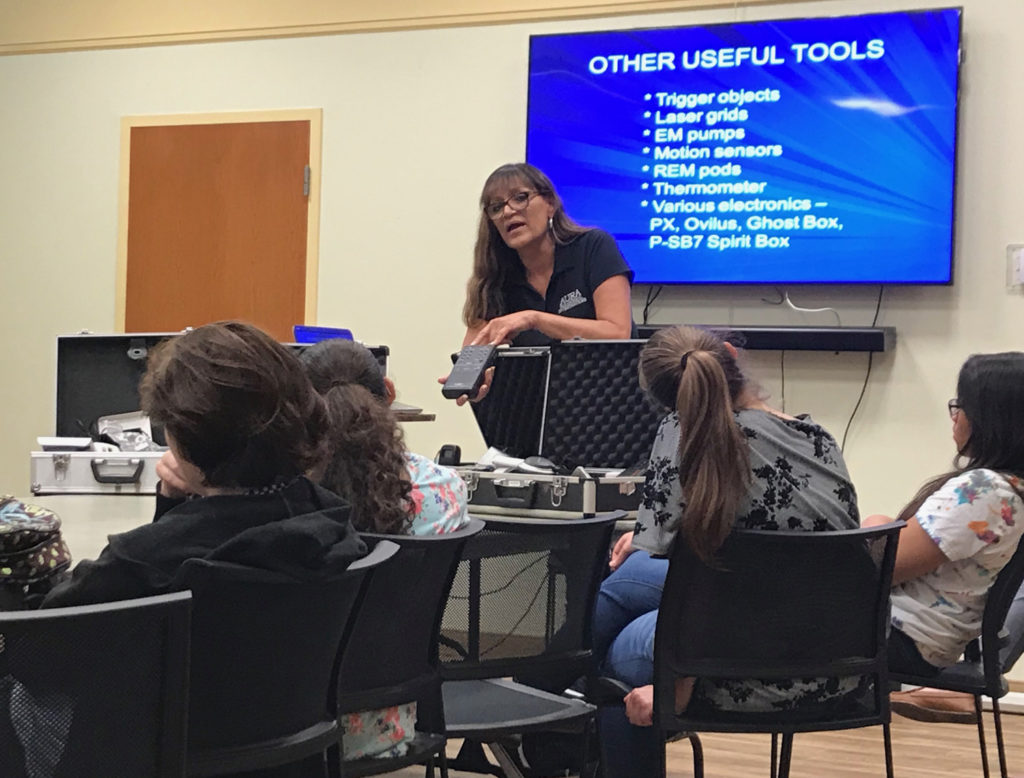 Teens Explore the Paranormal at Gulfport Library – The Gabber