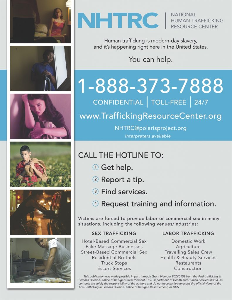 Human Trafficking: Victims are Everywhere