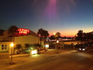 Gulfport casino sunset
