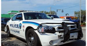 Gulfport Police Car