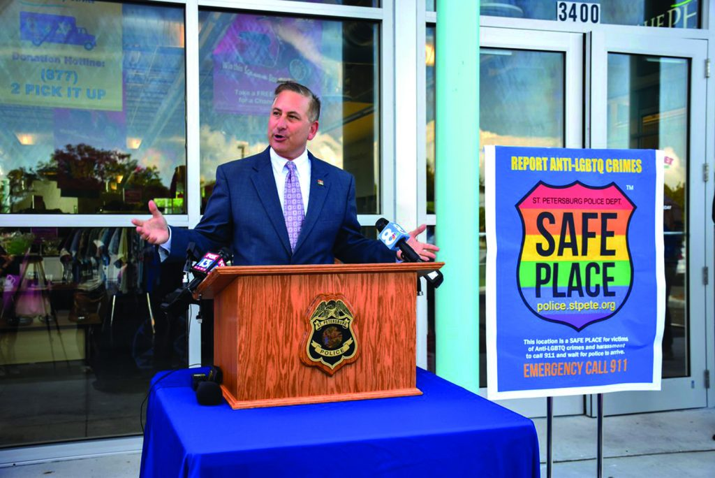 Safe Place' Decals Help for LGBTQ – The Gabber