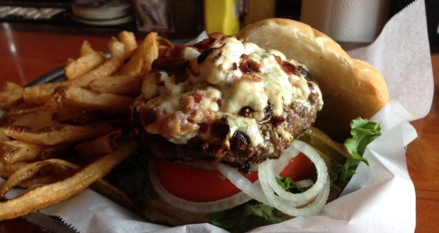 The Burg Bar and Grill's black and blue burger has been chosen as the best burger in the fourth annual Battle of the Burg(er)