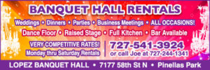 Lopez Banquet Hall: Weddings-Dinners-Parties-All Occasions!