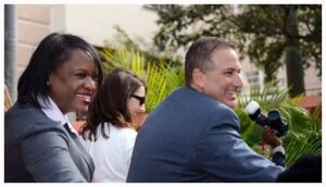 Rick Kriseman and Kanika Tomalin