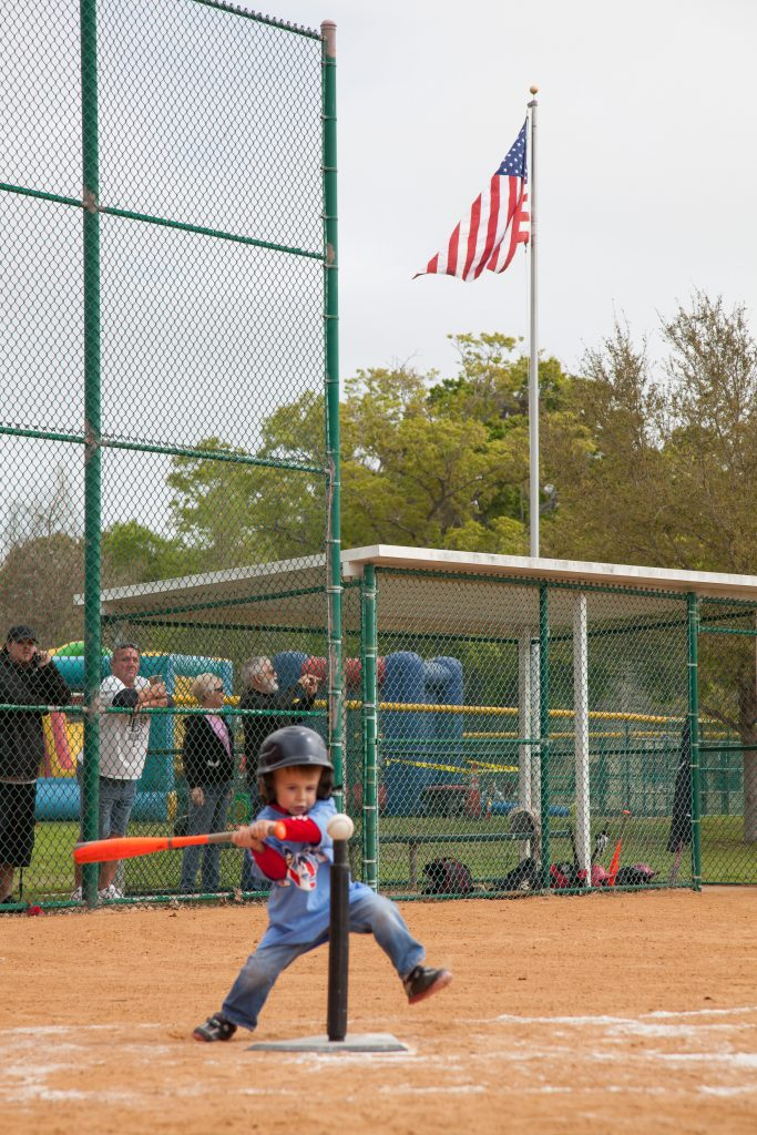 T-Ballers get a chance at the ball on opening day.