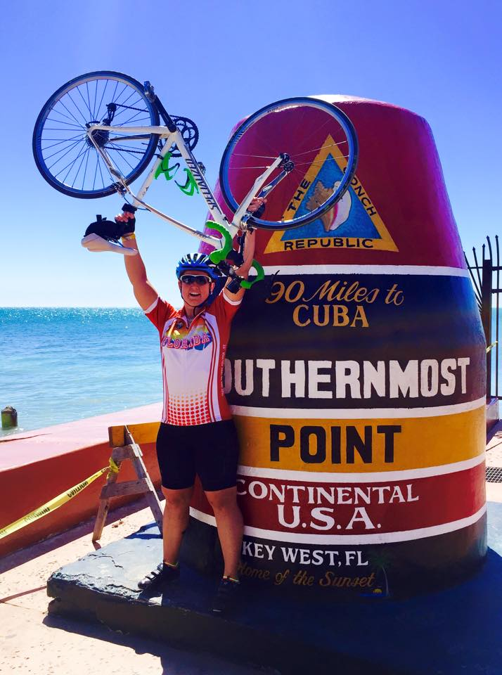 Morgan Wujkowski ride to Key West