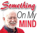 Something on my mind logo with picture
