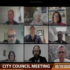 Screen Shot of the May 19 2020 Gulfport City Council Meeting