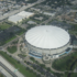 Aerial view of Tropicana Field in St. Petersburg Florida