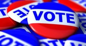 Voter badges