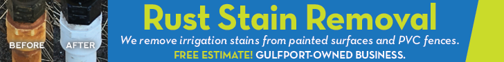 Rust stain removal ad