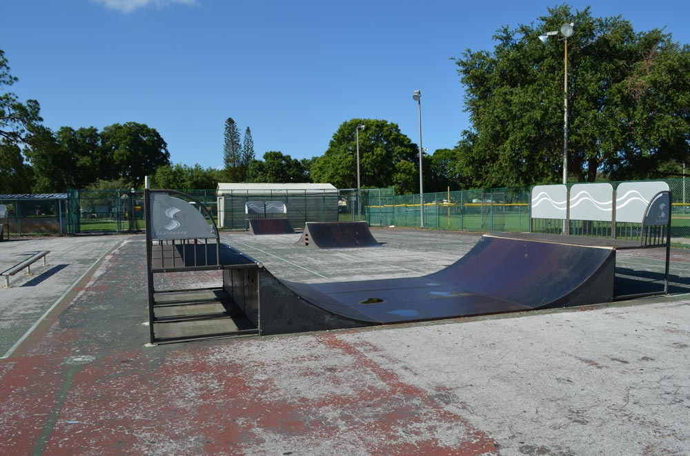 The Tomlinson Lake Skate Park, now closed, drew complaints from residents for being an unsupervised space where rule-breakers ruled. Others complained that the park was in need of refurbishment.
